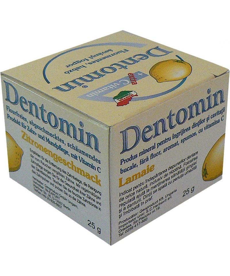 Dentomin - praf de dinti-Lamaie