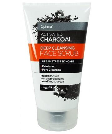 Scrub facial cu Cărbune active
