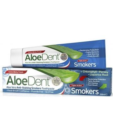 AloeDent – Anti-colorare – Pastă de dinţi pentru fumători
