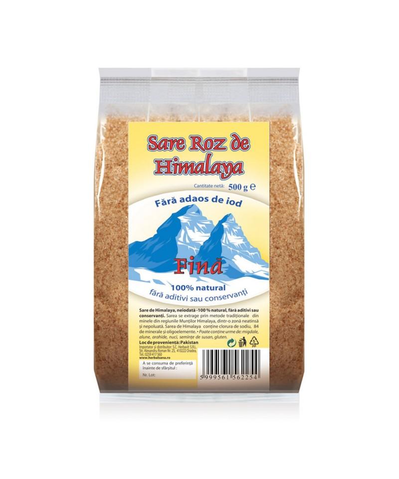 Sare Roz de Himalaya - Fină - 500g