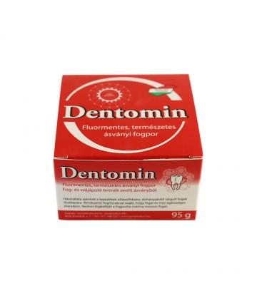 Dentomin  - praf de dinti nespumant