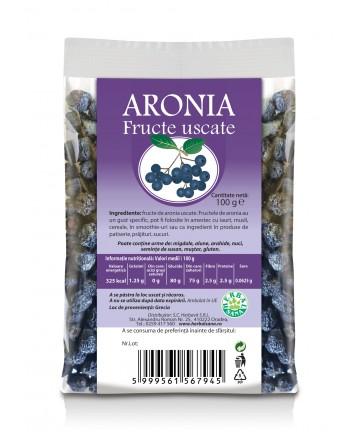 ARONIA Fructe uscate -100 g