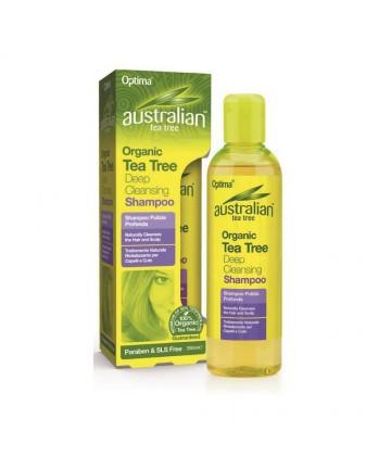 Şampon cu ulei din arbore de ceai australian