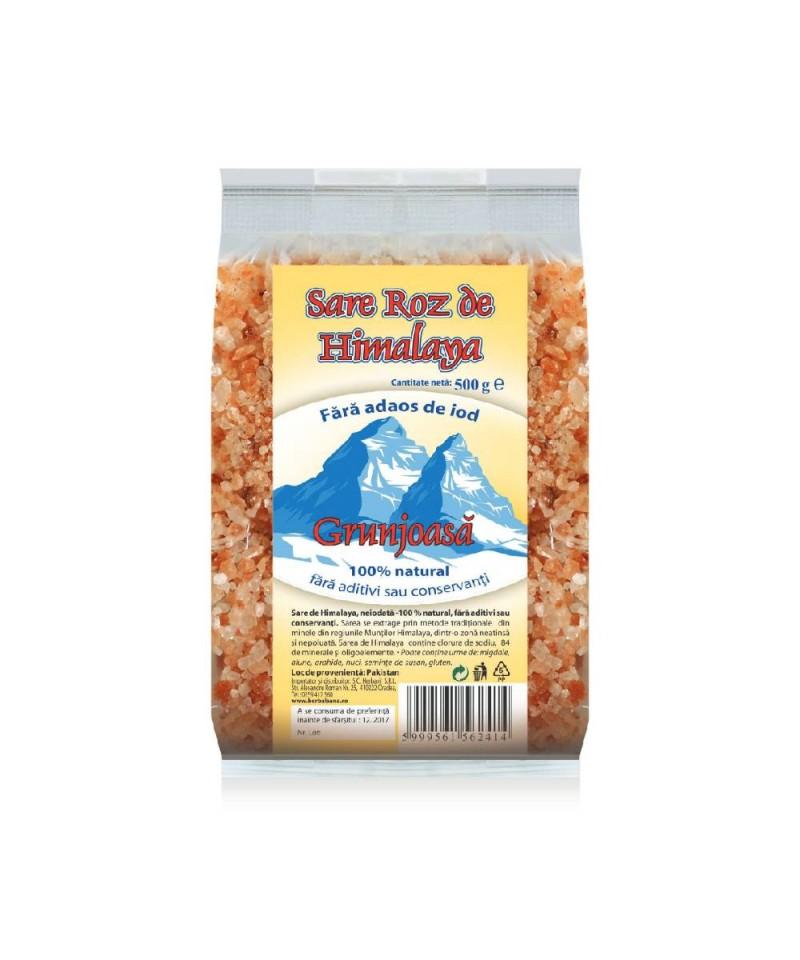 Sare de Himalaya grunjoasă - 500g