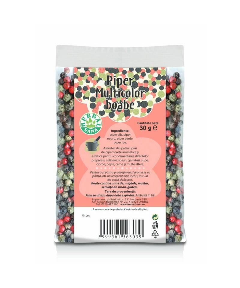 Piper Multicolor - boabe