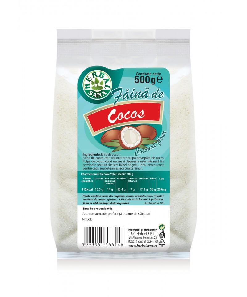 FĂINĂ DE COCOS-500g