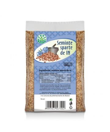 Seminţe sparte de In 100 g