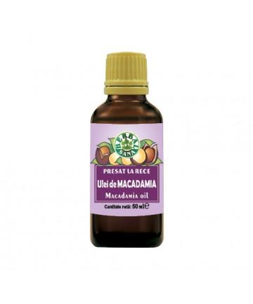 Ulei de macadamia - presat la rece 50 ml
