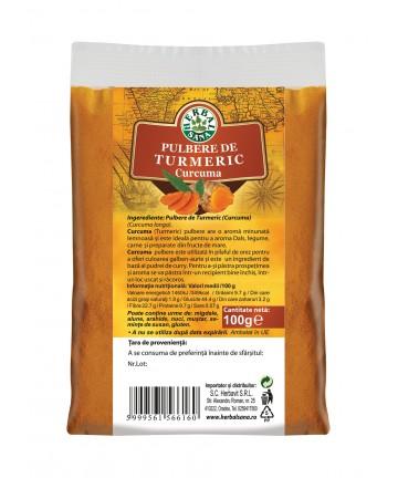 Pulbere de Turmeric (Curcuma) 100 g