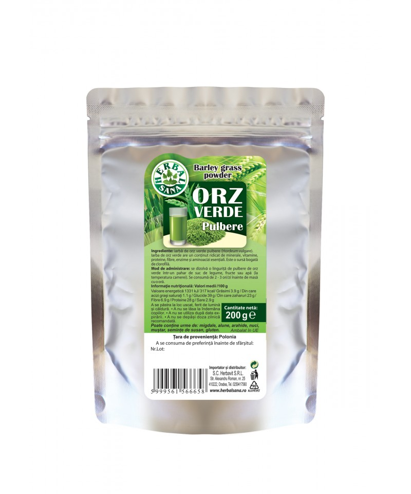 Orz Verde pulbere -200g