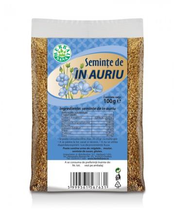 Seminţe de IN  AURIU 100 g