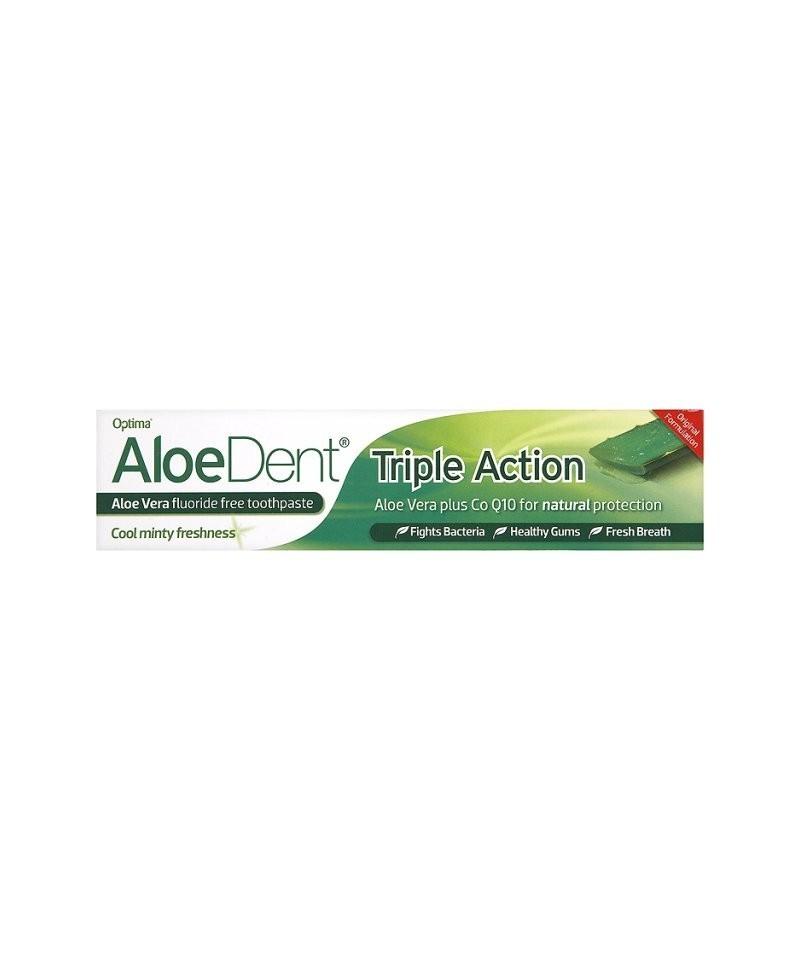 AloeDent-Pata de dinti Triple Action-fara fluor