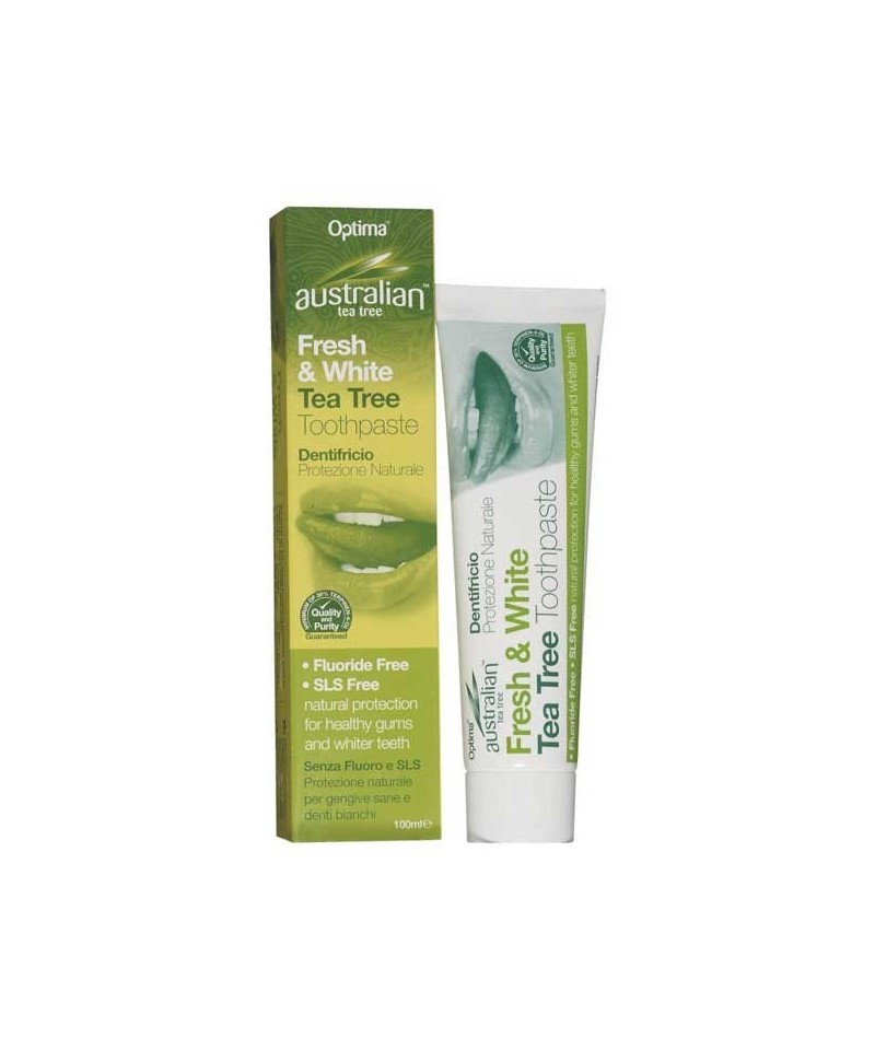 Pasta de dinti cu arbore de ceai Australian