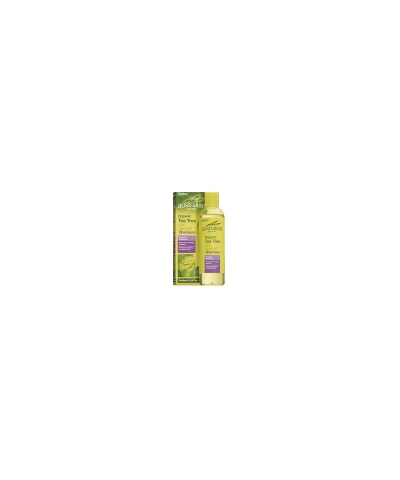 Şampon antimătreaţă cu ulei din arbore de ceai