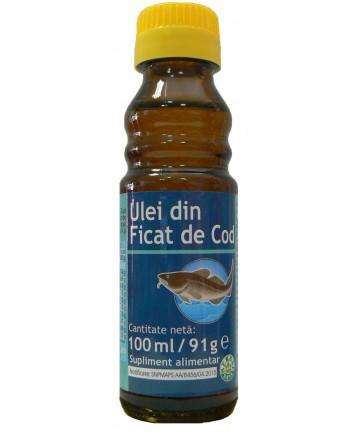 Ulei din Ficat de Cod 100 ml