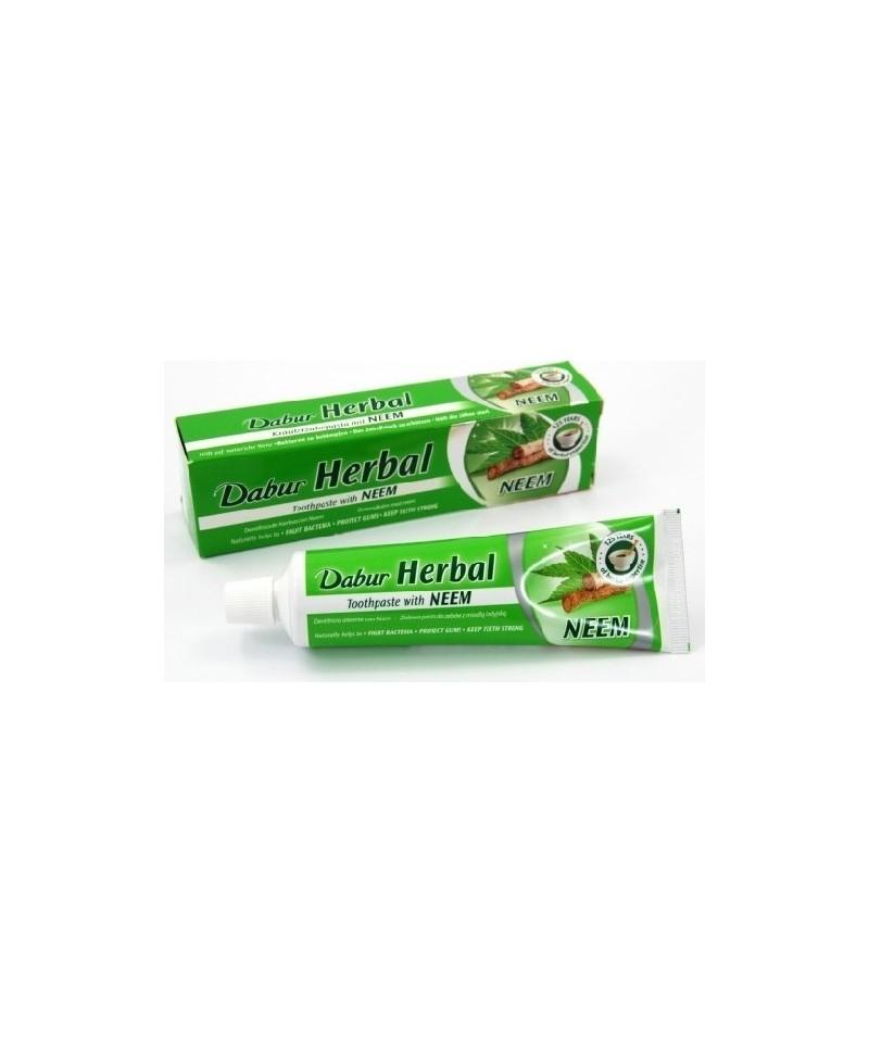 Dabur - Pastă de dinţi herbal cu frunze de neem - 100ml