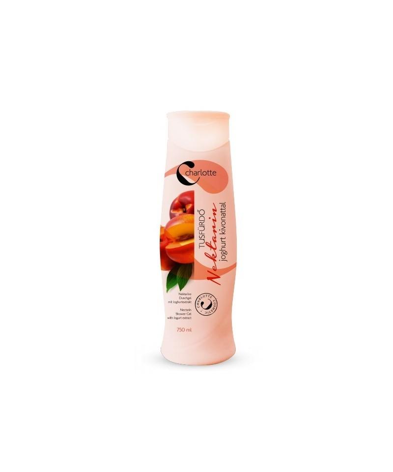 Gel de dus cu aroma de Nectarine cu extract de iaurt - 750 ml